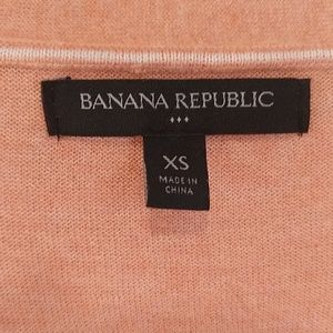 Banana Republic Factory Sweaters - Heathered Pink Cardigan